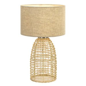 Bayz 400mm Table Lamp in Sand