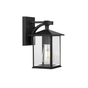 Coby Small IP44 Exterior Wall Light in Black