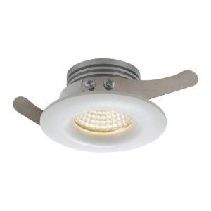 Duro 3 Watt Warm White LED Recessed Round Stair or Down Light