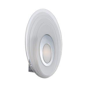 Elsa 5 Watt LED Round Wall Light in Chrome