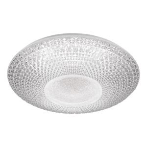 Greta 550mm 50 Watt CCT LED Dimmable Oyster Light with Remote