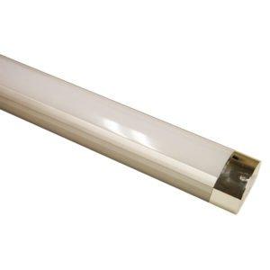 Jet LED Cool White 5000K Batten Light in Nickel Finish