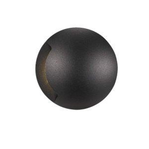 Luc IP65 12 Volt 1 x 3 Watt Warm White Inground Light in Black