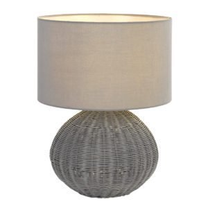 Mohan 38 Table Lamp in Grey