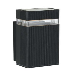 Roland IP44 GU10 Exterior Wall Light in Black