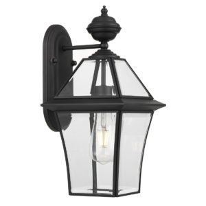 Rye Small IP44 Exterior Wall Light in Black