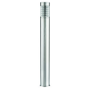 Portico 900mm Louvered Bollard in Stainless Steel