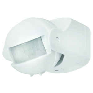 Uni-Scan 180 Degree Security PIR Sensor in White