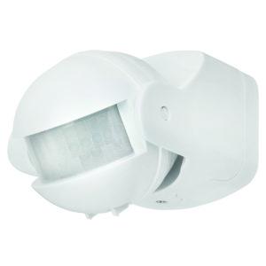 Uni-Scan 180 Degree Security PIR Sensor in White