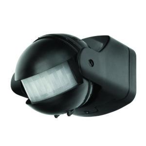 Uni-Scan 180 Degree Security PIR Sensor in Black