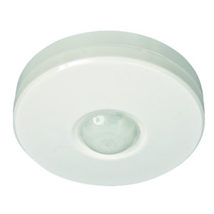 Three-Sixty 360 Degree Surface Mount PIR Sensor in White