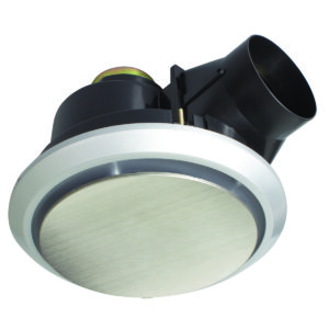 Talon Large 325mm Round Exhaust Fan in Stainless Steel