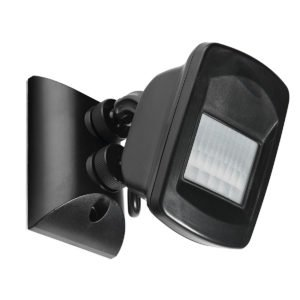 Flexiscan 110 Degree 3-Wire Infra in Red Sensor in Black