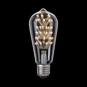 3W E27 Starglow ST57 Vintage Style LED Globe