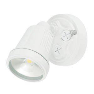 Hunter III 1 Light LED Floodlight in White