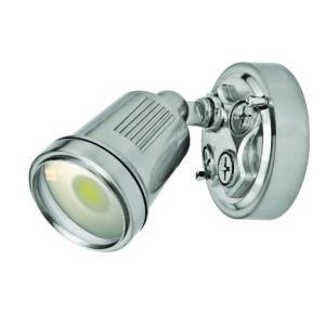 Hunter III 1 Light LED Floodlight in Satin Nickel