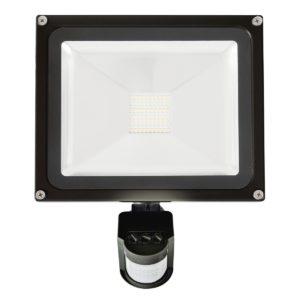 Avenger II 30W LED Flood Light with Sensor in Black