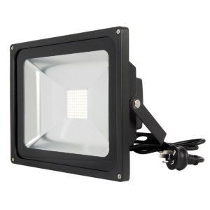 Avenger II 50W LED Flood Light in Black