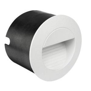 Cooper Aluminium LED Round Step Light in White