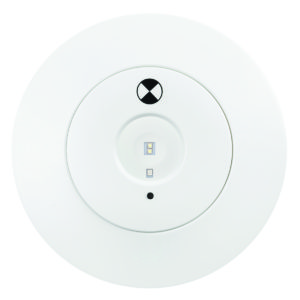 Pathfinder 3W Recessed Emergency Downlight in White