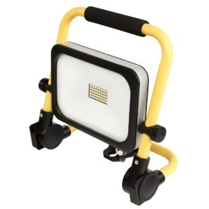 Expanda 20W LED Foldable Worklight in Black and Yellow