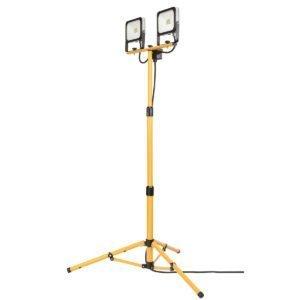 Expanda 2X20W Twin LED Tripod Worklight in Black and Yellow
