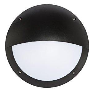 Hardy LED 12W Vandal in Proof Eyelid Bunker in Black