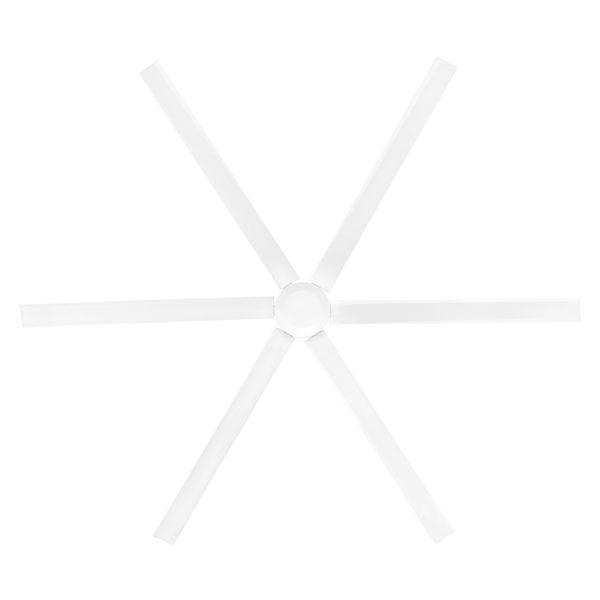 """Hercules 96"""" Industrial Sized Ceiling Fan Blade in White"""