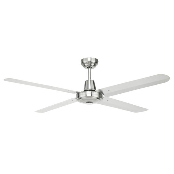 "Atrium 48"" AC Ceiling Fan in 316 Stainless Steel"