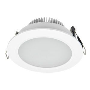 Umbra CCT LED Round Diffused Downlight 10W 3000K/4200K/6500K in White