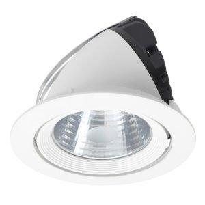 Griffin CCT 30W Round Snorkel Shoplight in White