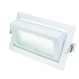 Centaur CCT 35W Rectangular Shoplight in White