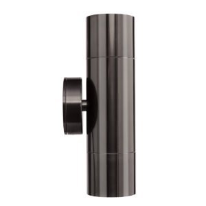 Seaford Up/Down Wall Light in Anodised Gun Metal