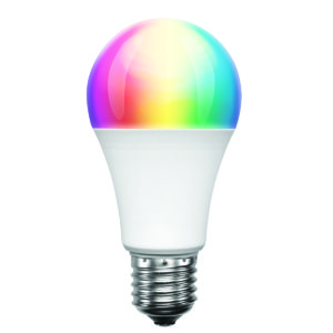 Smart Wifi Classic A60 9W RGB + W LED E27 Globe (Dimmable)