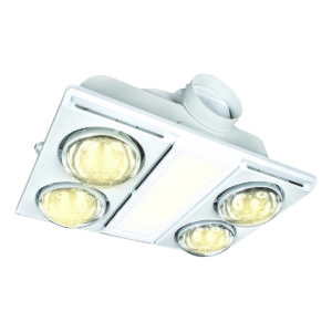 Supernova II 4+1 CCT LED Light 3-in-1 Bathroom Mate in White
