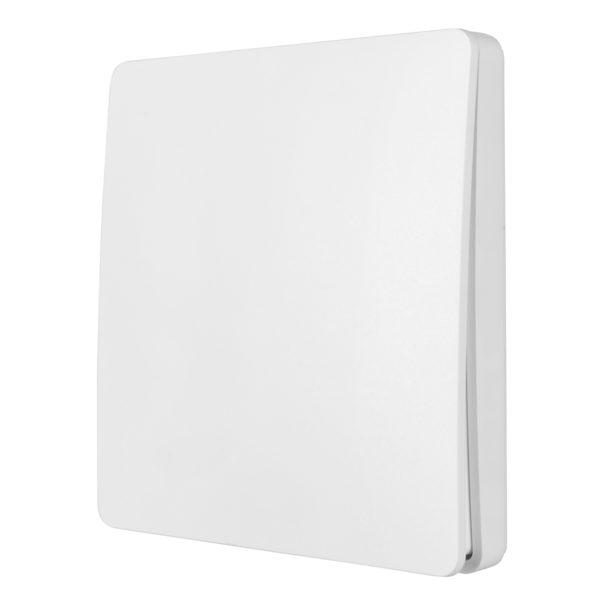 Smart Wifi Kinetic Wall Switch 1 Gang in White