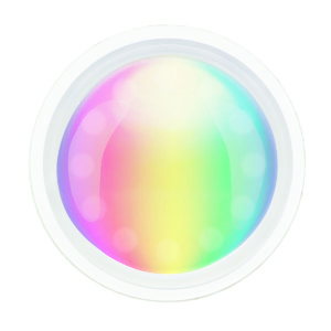 Smart Wifi GU10 Dimmable 4.5W RGB + White Globe