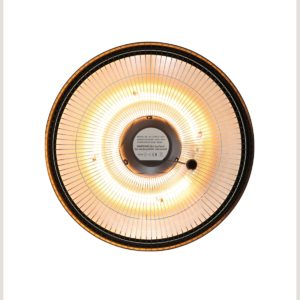 Heatzone 1500W IR Outdoor Heater in Black