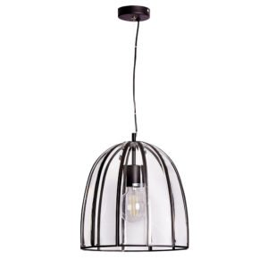 Fountain 330mm 1 Light Pendant in Black