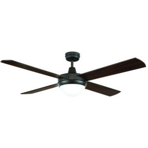 Tempest II 52'' Ceiling Fan with 2 x B22 Light in Oil-Rubbed Bronze with Dark Timber Blades