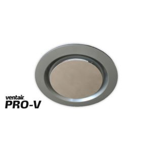 Airbus 200 Exhaust Fan with Silver Round Fascia
