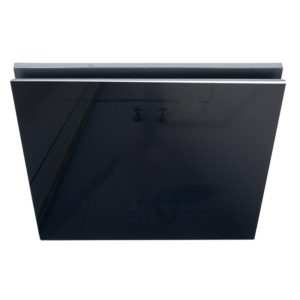 Airbus 200 Exhaust Fan with Black Square Glass Fascia