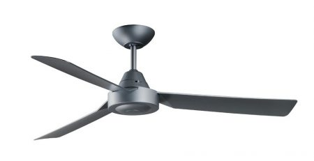 "Bullet 48inch"" (1203mm) ABS 3 Blade Ceiling Fan in Titanium"