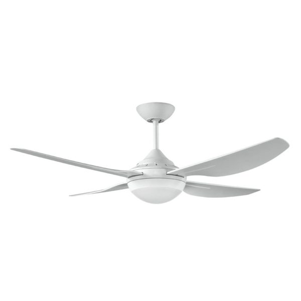 "Harmony 2 48inch"" (1220mm) ABS 3 Blade Ceiling Fan with 18w LED Light in White"