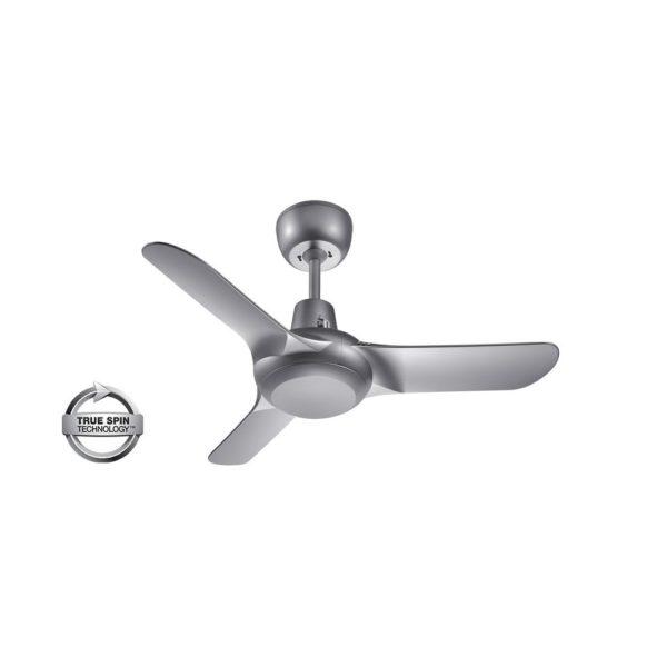 "Spyda 3 Blade 36"" (903mm) Ceiling Fan with Plastic Alloy Blades in Titanium"