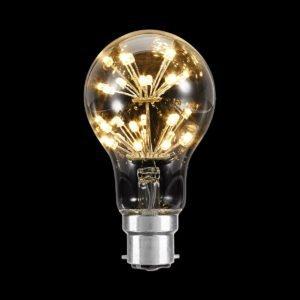 3W B22 Starglow A60 Vintage Style LED Globe