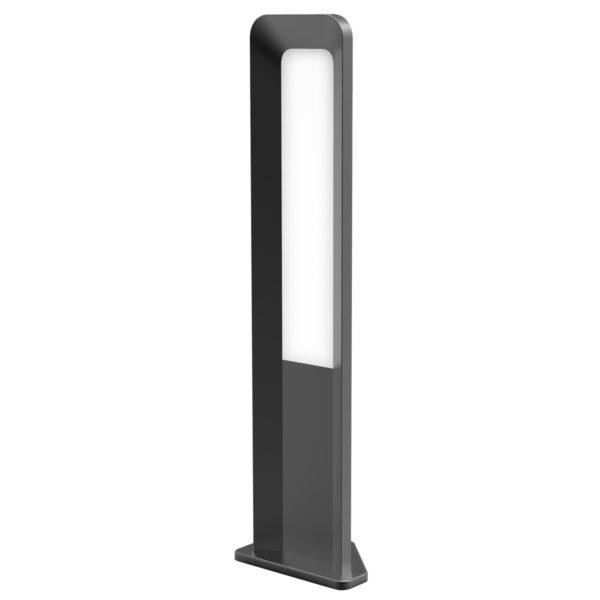 Hathor 500mm IP54 13 watt LED Integrated Bollard Light in Dark Grey