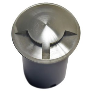 IP67 87mm Faceplate MR16 12v Recessed 2-way Round In-Ground Up Light in 316 Stainless Steel