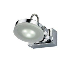 Seattle 3 Watt LED Internal Adjustable Bar Wall Light in Chrome
