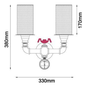 VENETO-W2 Dimensions